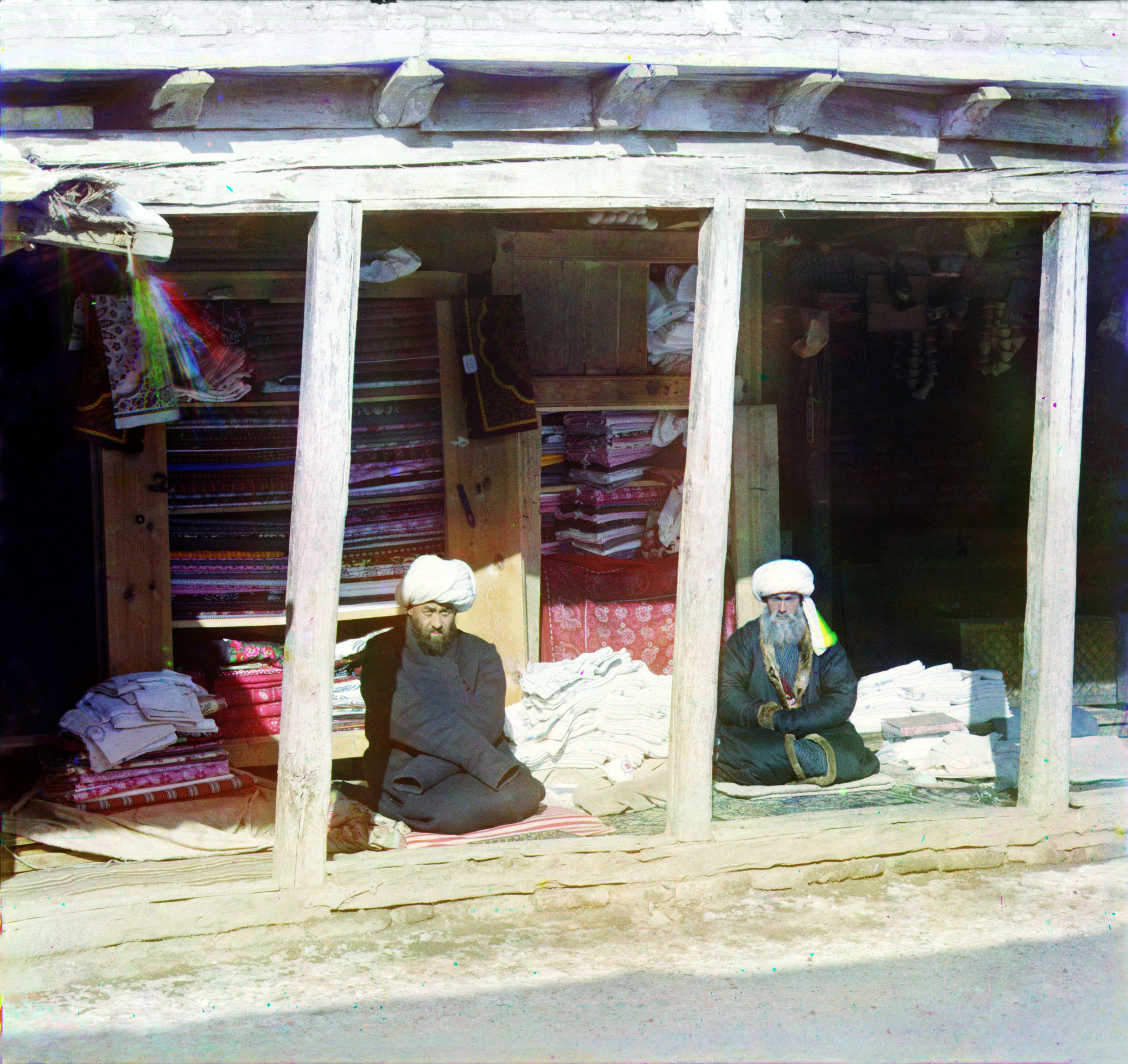 Торговцы материями на Регистане