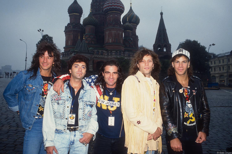1989. «Bon Jovi», Москва