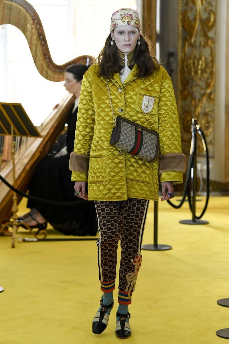 Коллекция Gucci весна/лето 2018