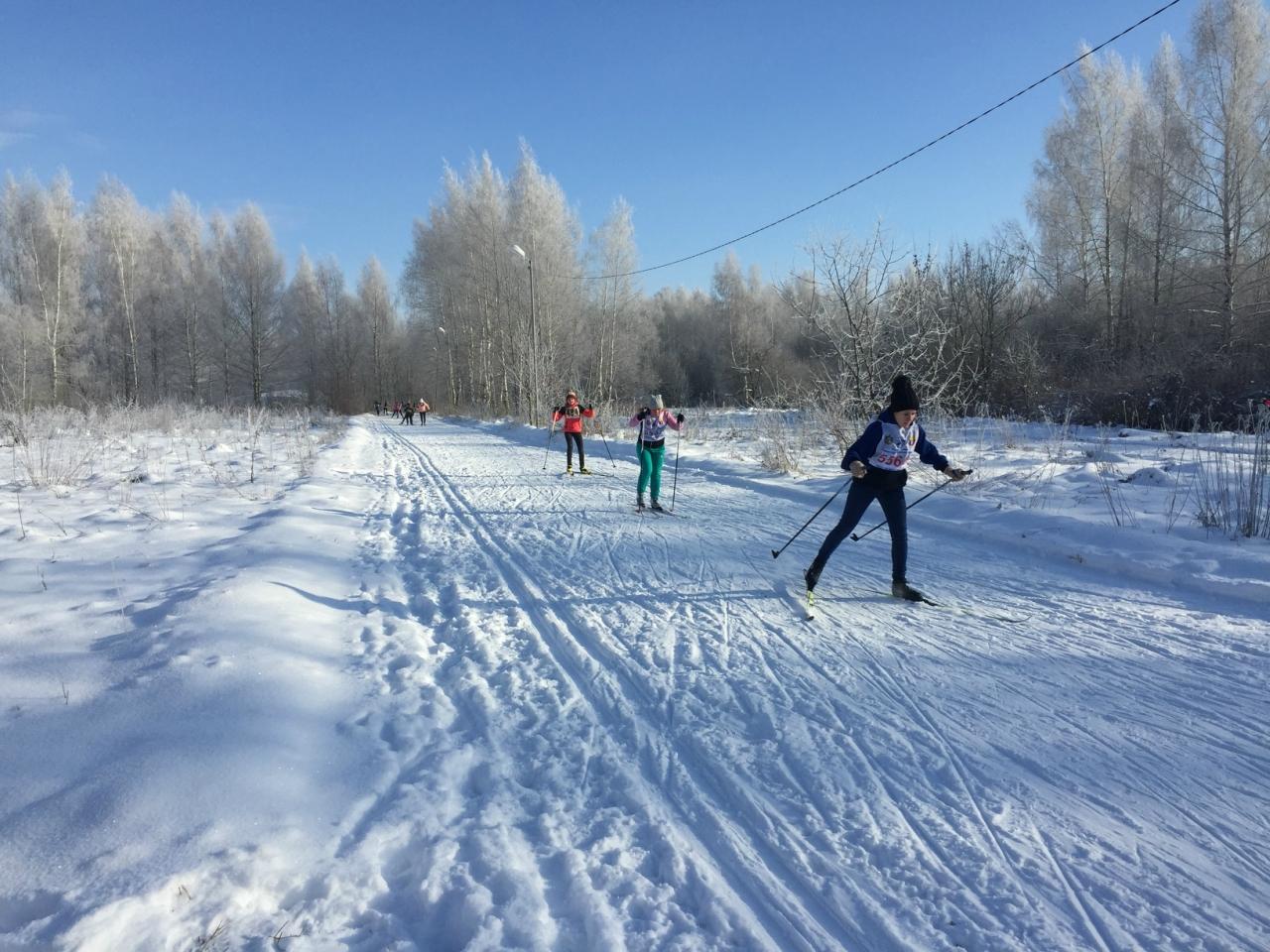 В г. Кораблино состоялось лично-командное первенство Кораблинского района по лыжным гонкам