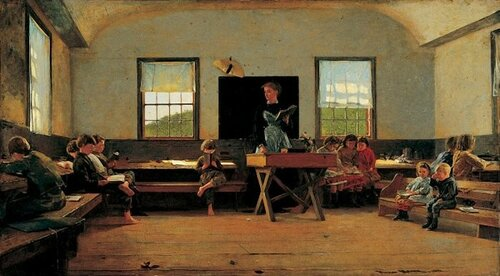 Winslow Homer The Country School