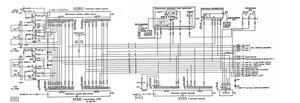 Схема подключения радиостанций Баклан-20, Баклан-5 к бортсети и аппаратуре самолёта