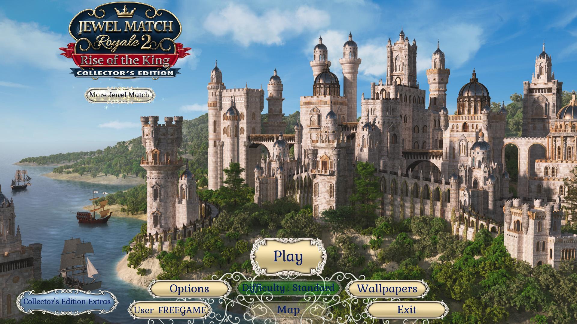 Джевел матч Королевский 2: Восшествие короля. Коллекционное издание | Jewel Match Royale 2: Rise of the King CE (En)