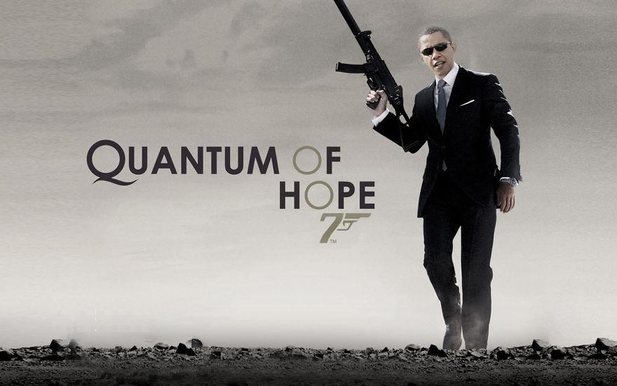 2. «Квант надежды» — Барак Бонд