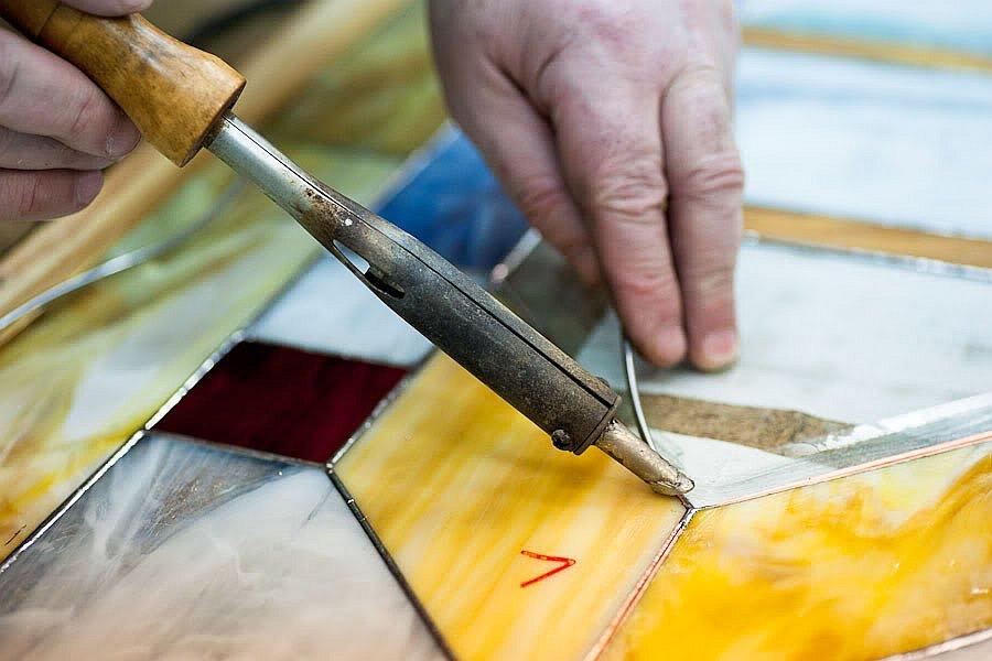 Витражи—произведения стекольного искусства