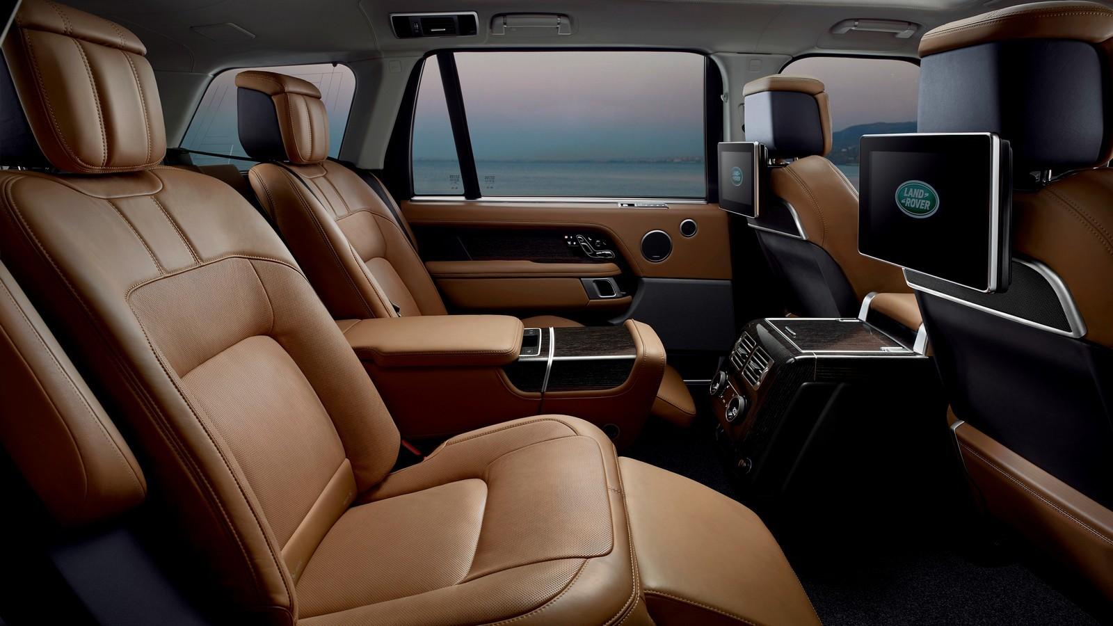 Range Rover SVAutobiography DYNAMIC  Плагин-гибридная модификация Range Rover получила индекс P400