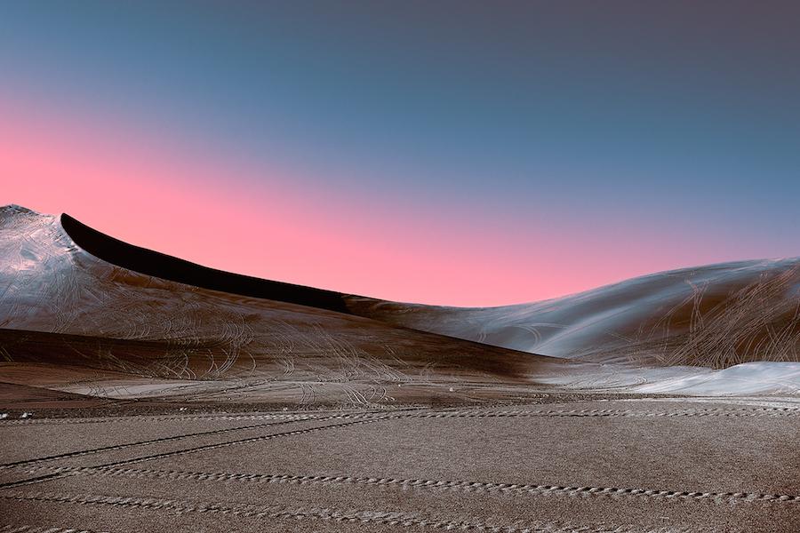 Зарево над пустыней: инопланетные пейзажи Стефано Гарделя (6 фото)