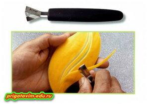 Нож граверный (треугольный) для карвинга