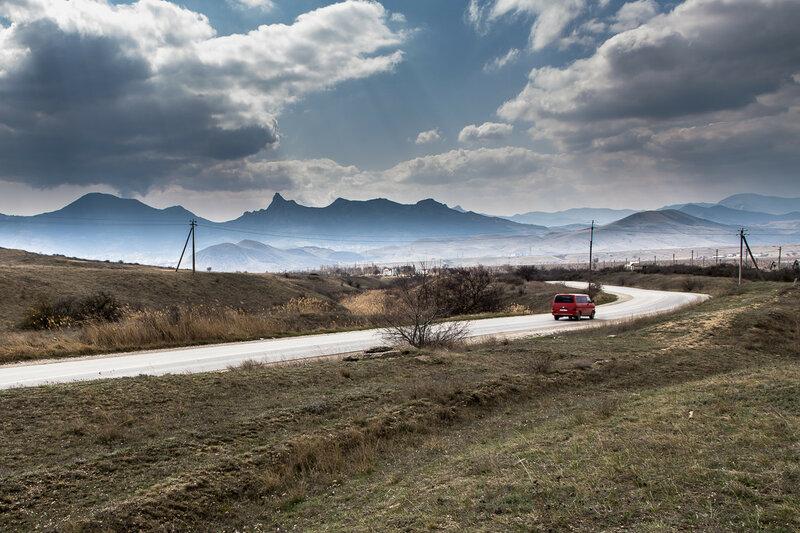 Карадаг: по дороге в Наниково