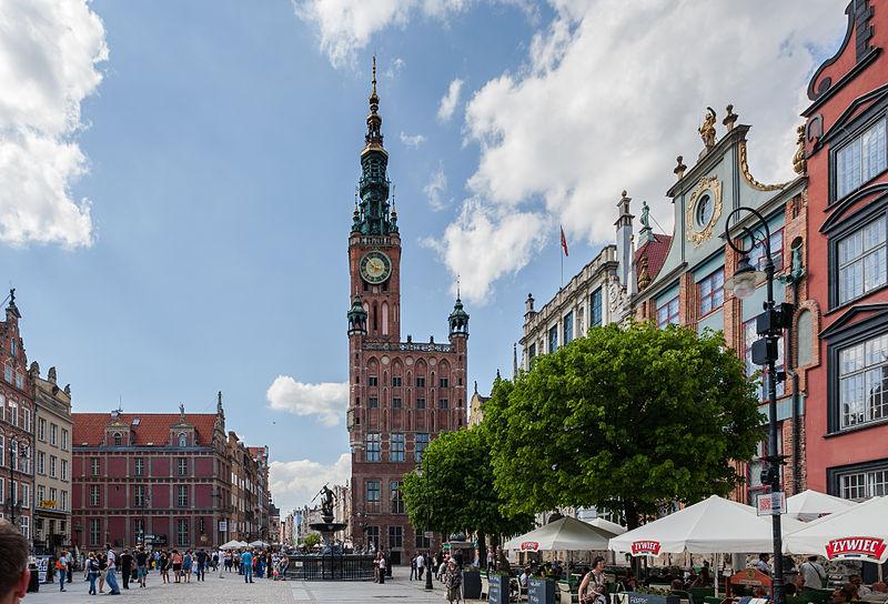 Гданьская  ратуша.
