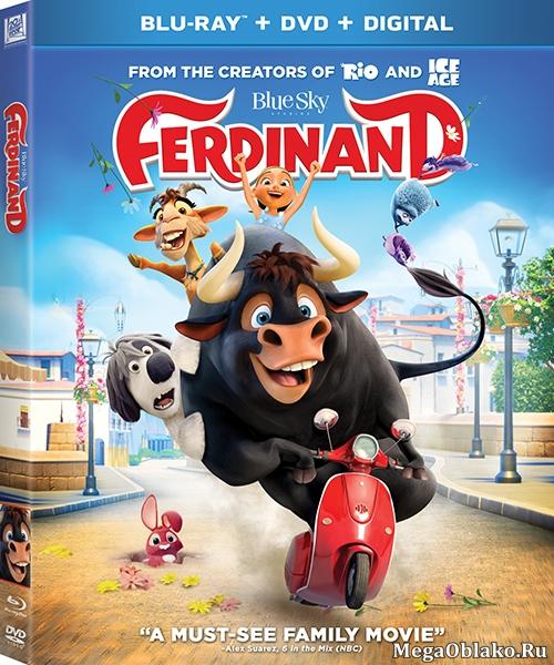 Фердинанд / Ferdinand (2017/BDRip/HDRip)
