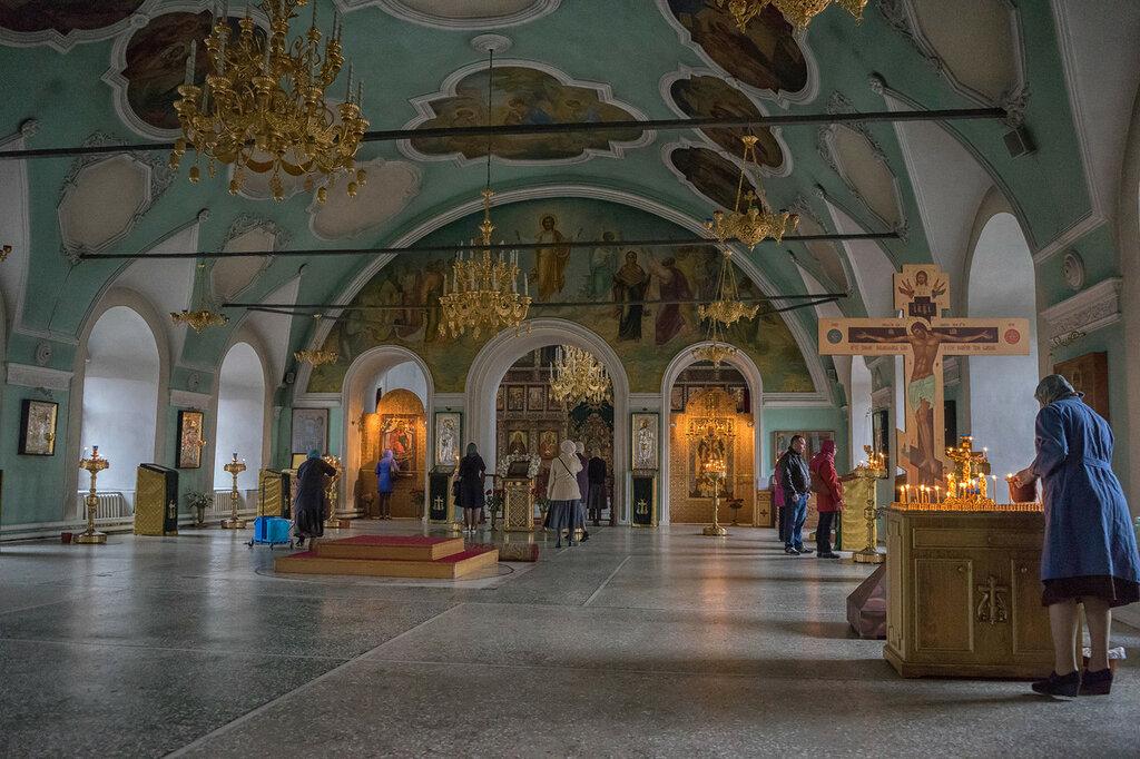 В Сергиевском храме Высоко-Петровского монастыря