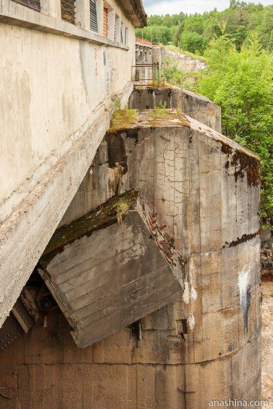 Гирвасская плотина, Карелия