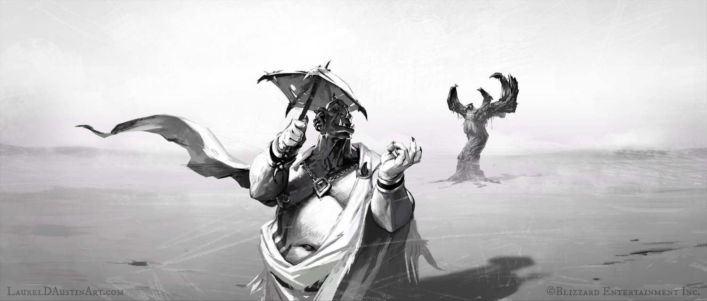 'Lords of War: Grommash' Illustrations by Laurel D. Austin