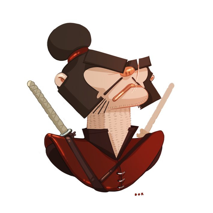 Amazing Simple Character Illustrations by Don Shamir