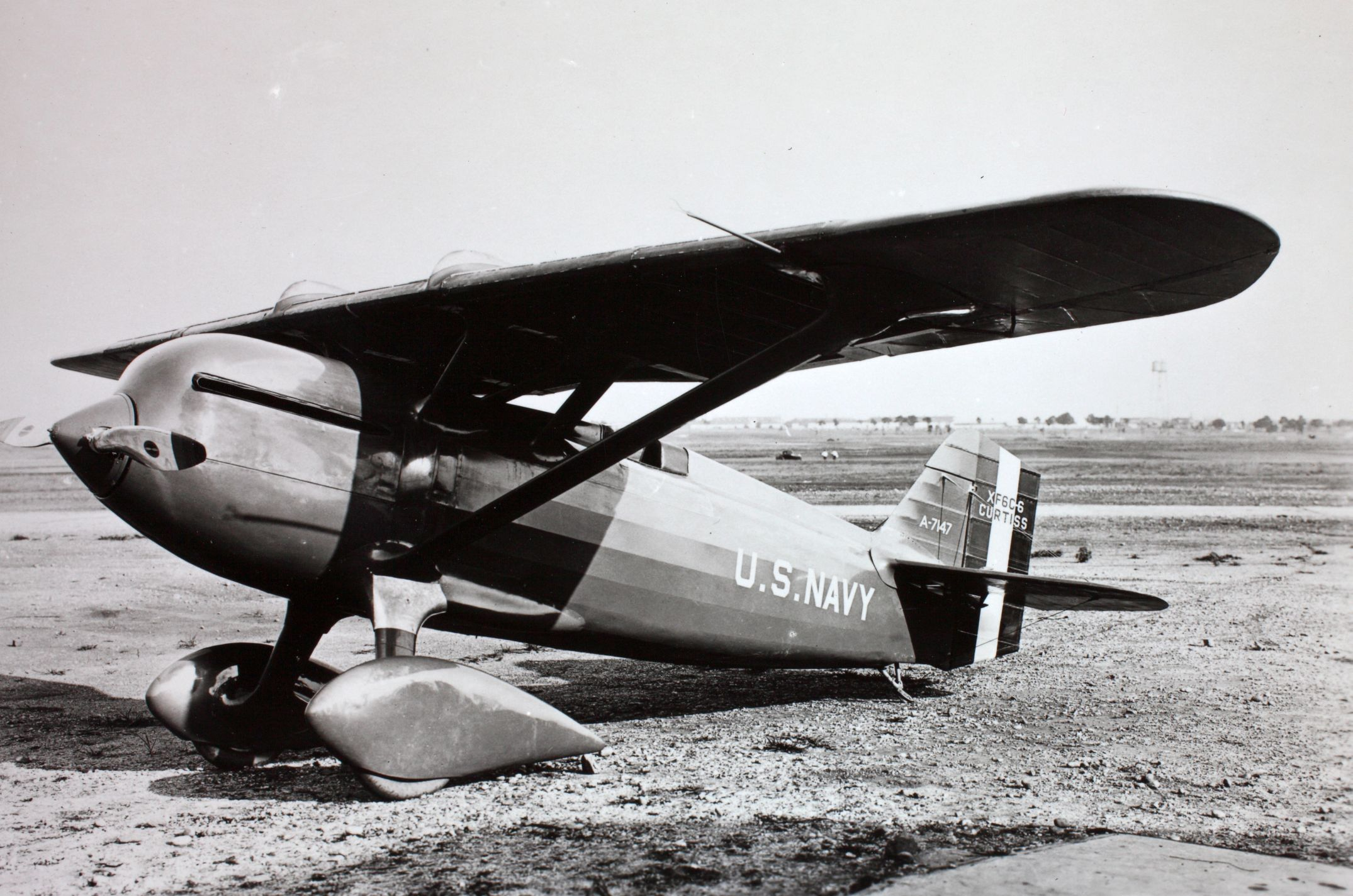 Curtiss-Wright XF6C-6 Navy Racer