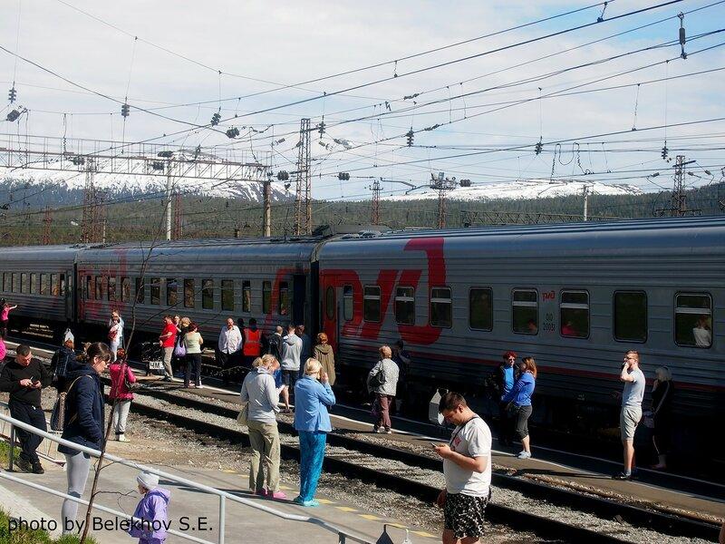 железная дорога, путешествие, Кандалакша