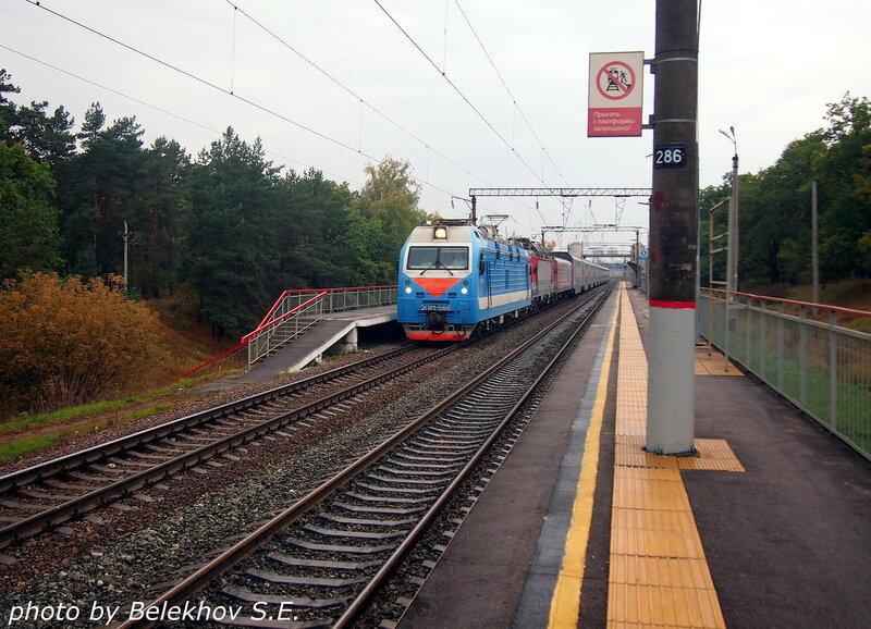 железная дорога, Воронеж