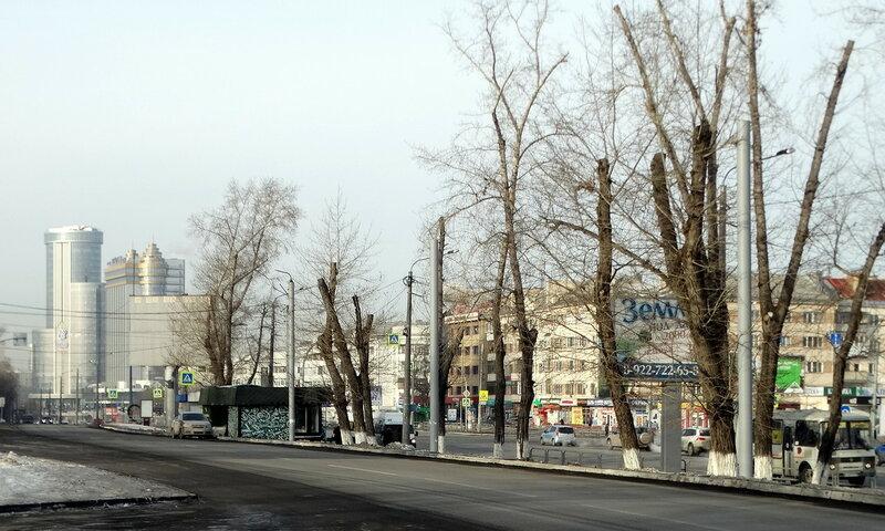 Прогулка по городу в конце января