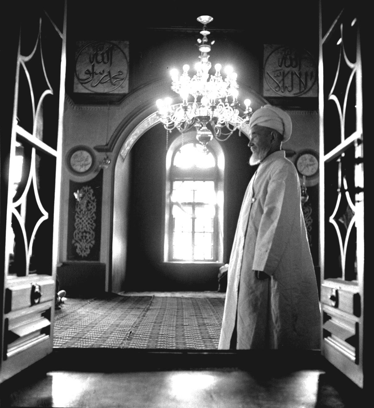Городская мечеть. Имам