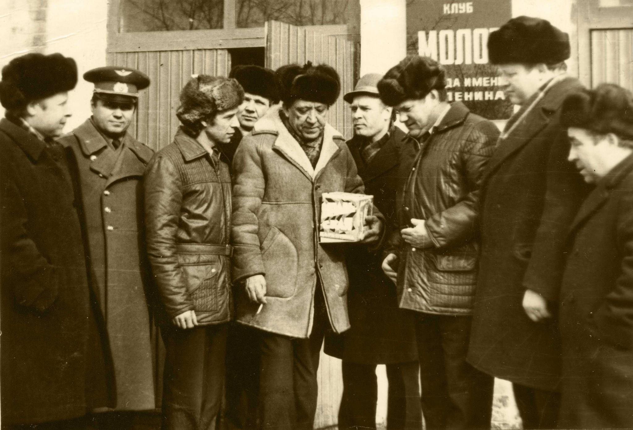Юрий Никулин в Перми. Мотовилиха