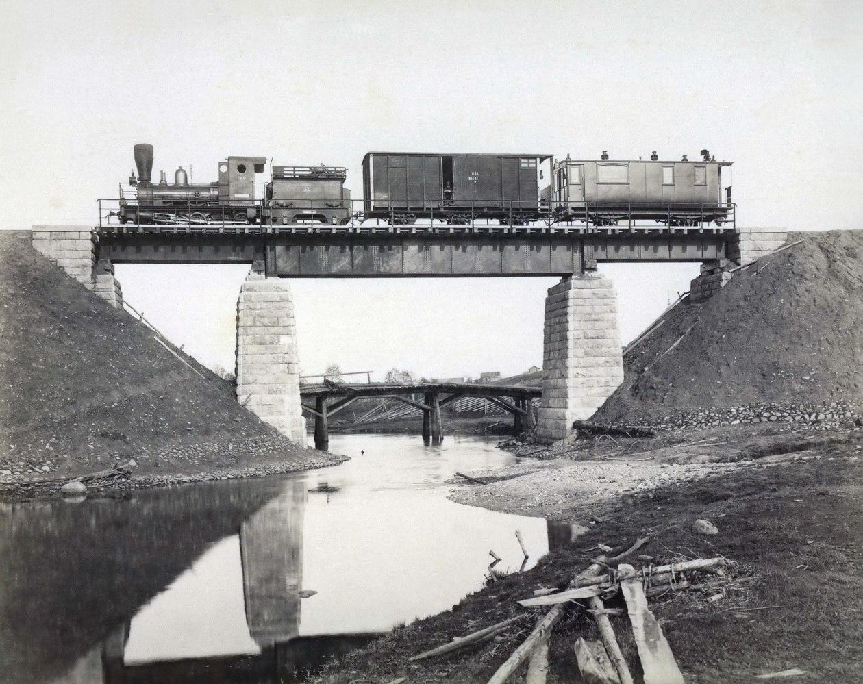 156-я верста от Вологды, мост через реку Явенгу