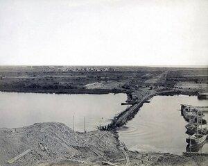 588-я верста от Вологды, начальные работы по строительству насыпи через Исакогорку в 1895 году