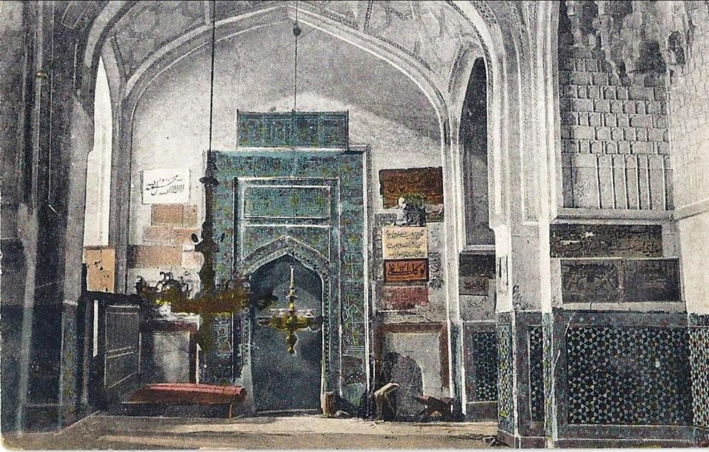 Мечеть Шах-Зинда. Интерьер