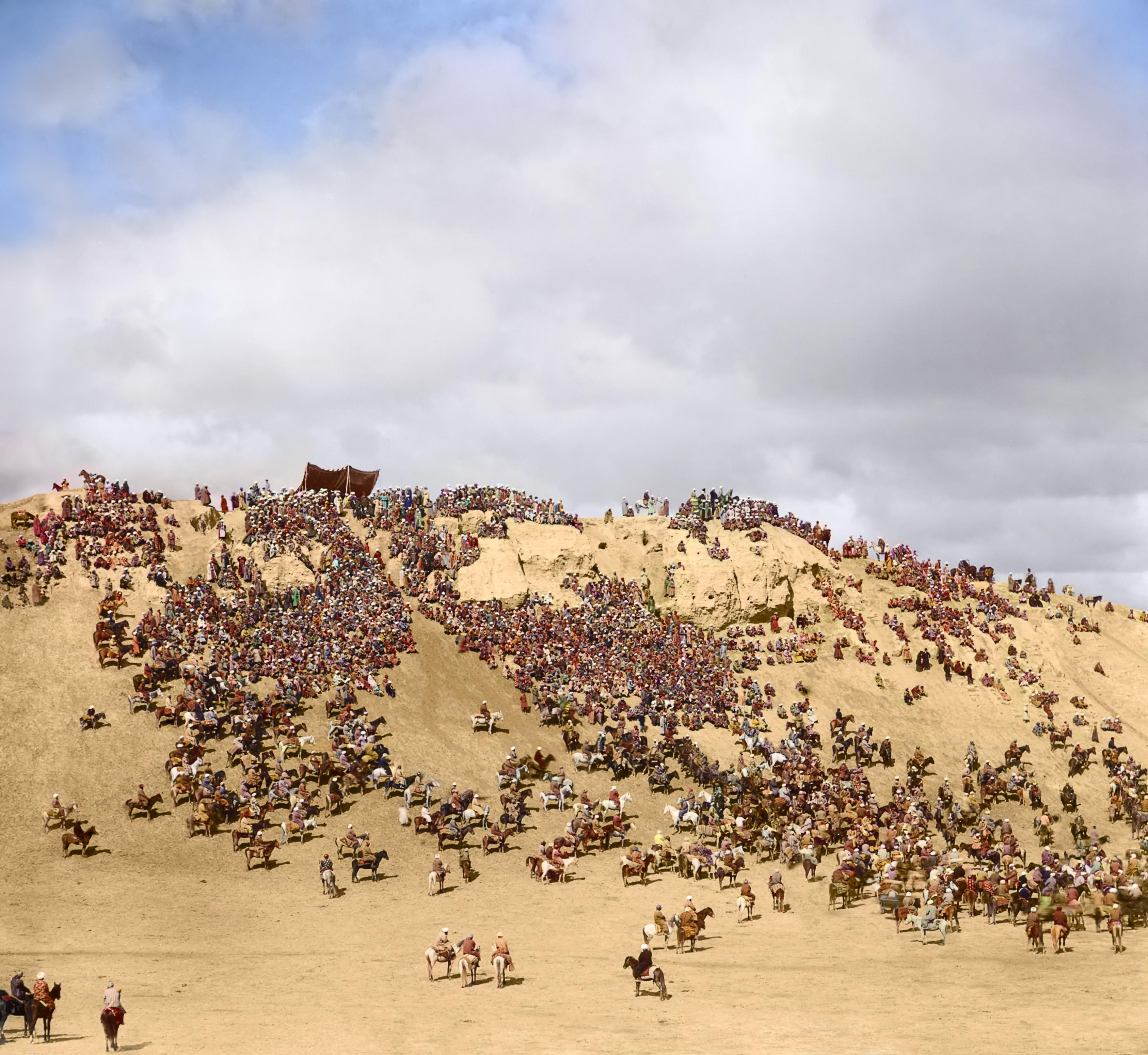 Окрестности Самарканда. Байга
