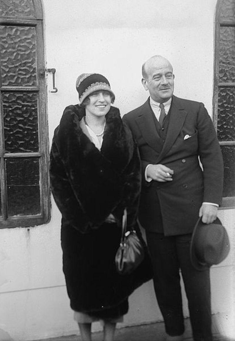 1920-е. Великий князь Борис Владимирович и Зинаида Рашевская