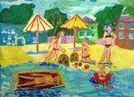 Антипова Злата (рук. Федорова Ирина Викторовна) - На пляже