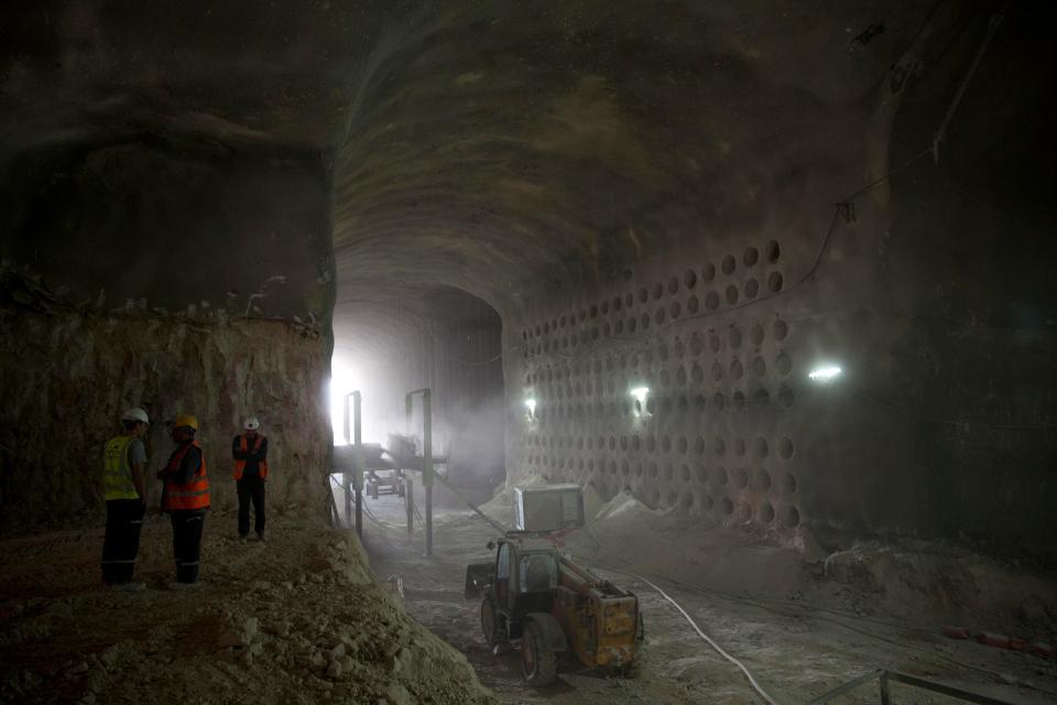Подземное кладбище под Иерусалимом