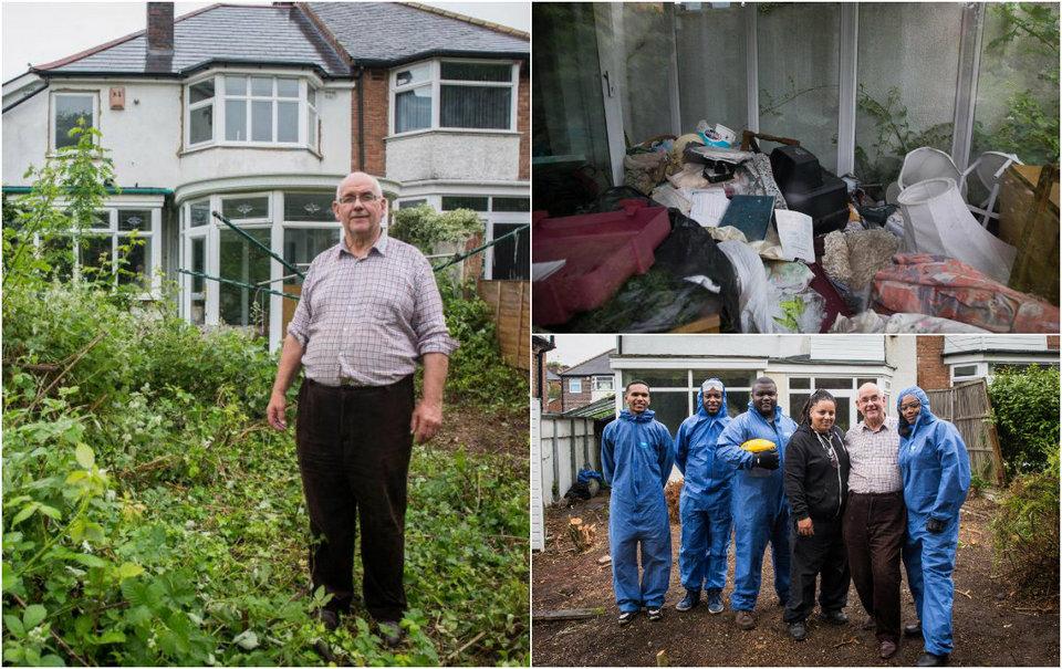 Британский пенсионер так завалил дом хламом, что не может туда зайти