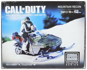 "Фотообзор Mega Bloks Call of Duty ""Mountain recon"""
