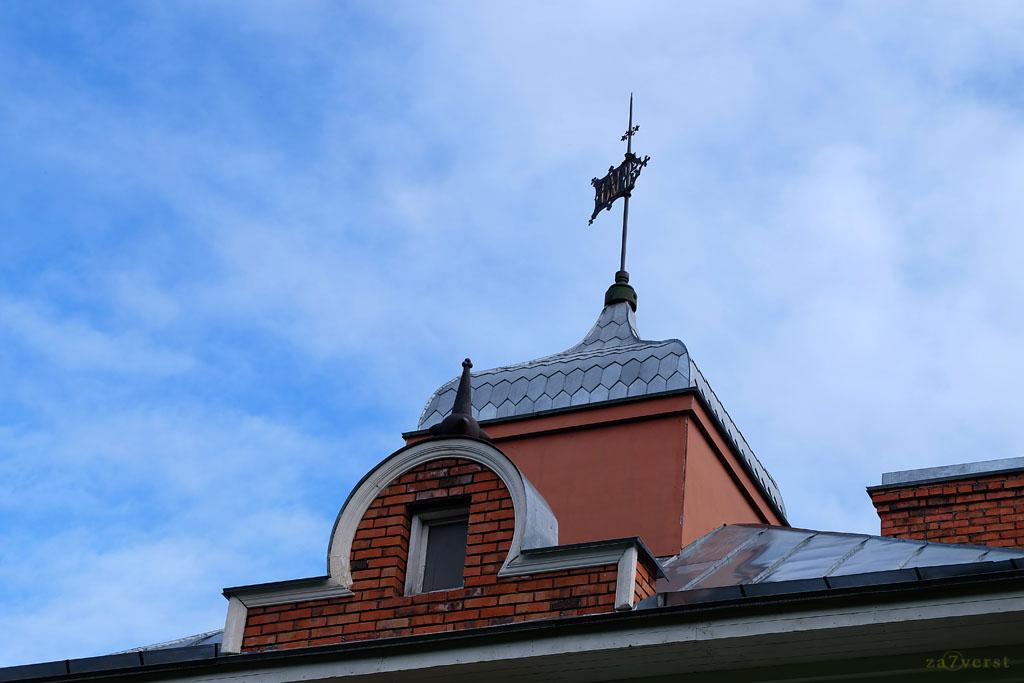 Усадьба Пашковых, дом управляющего, флюгер
