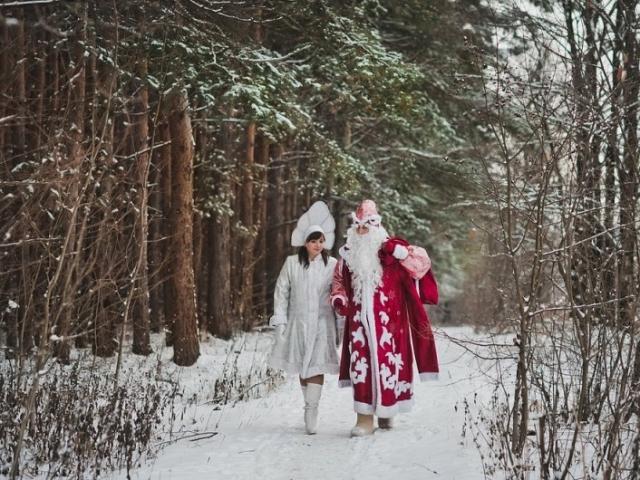 Открытки. С Днем Рождения Деда Мороза. Поздравляем