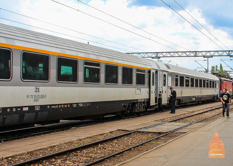 Белград и Скопье связывает железнодорожное сообщение