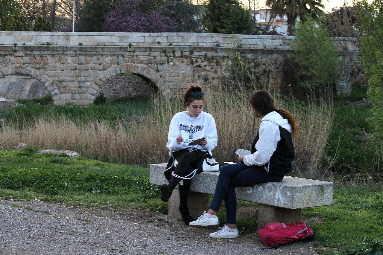 Римский мост через ручей Альбаррегас, Мерида