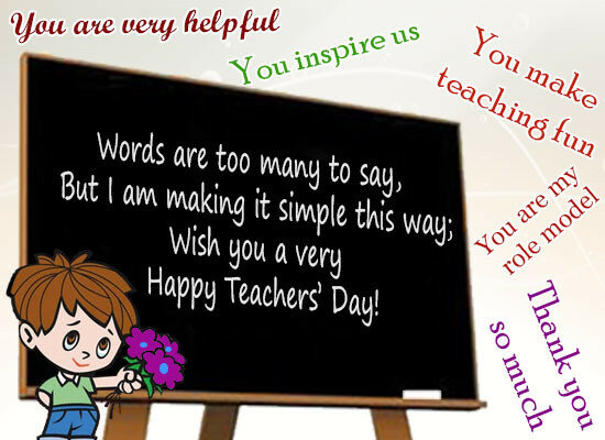 Happy teachers day greeting cards 5 october live greeting cards happy world teachers day greetings free beautiful animated ecards m4hsunfo