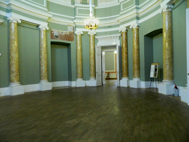 Михайловский замок, Овальный зал
