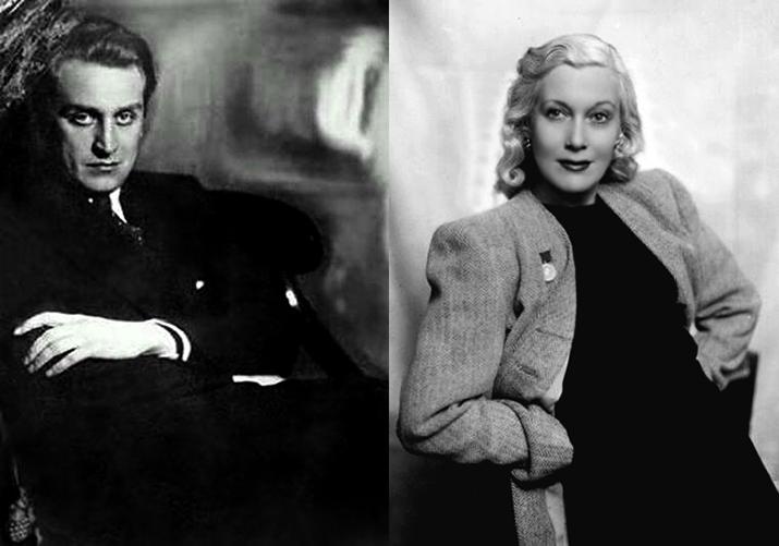 Любовь Орлова и Григорий Александров, ее муж.