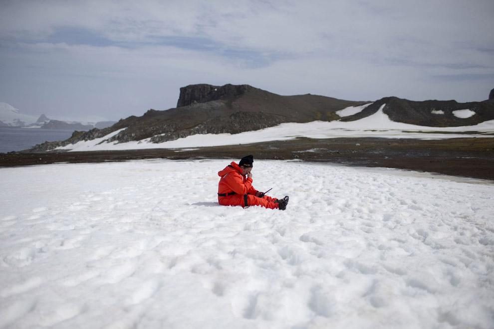 6. Кинг-Джордж, или Ватерло?о — самый крупный остров архипелага Южные Шетландские острова, 25 я