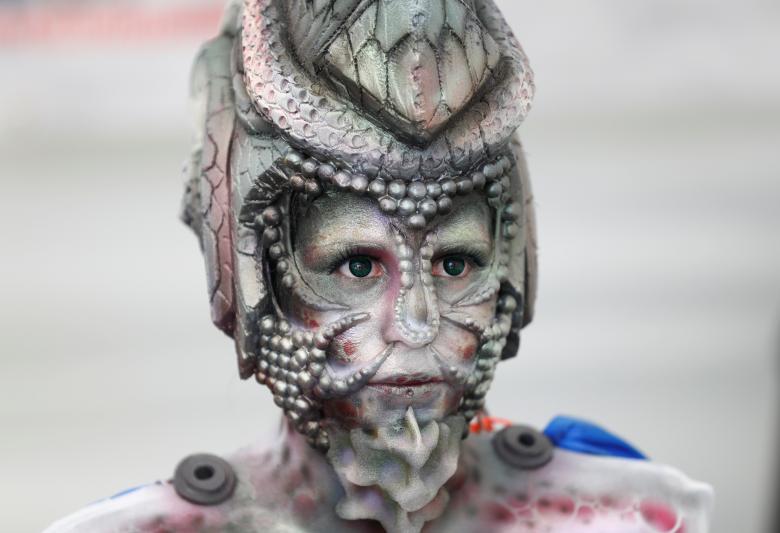 Человеческое тело, как холст: Всемирный фестиваль боди-арта в Австрии 2017 (13 фото)