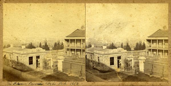 Колизей в Риме, 1842 год.
