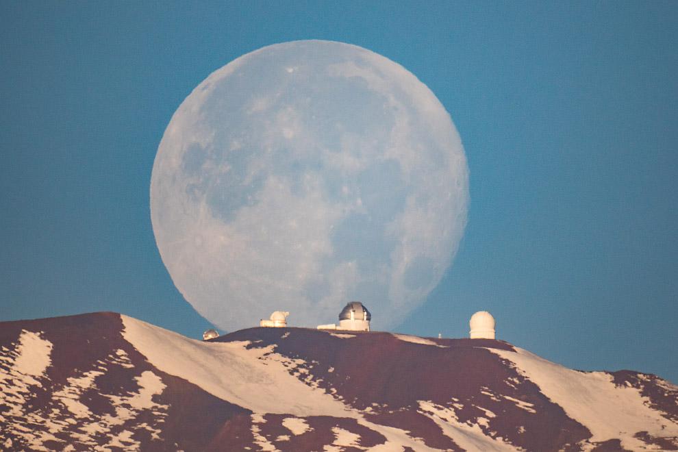 12. Победитель в категории «Наше Солнце». Транзит планеты Меркурий по диску Солнца. (Фото Ale