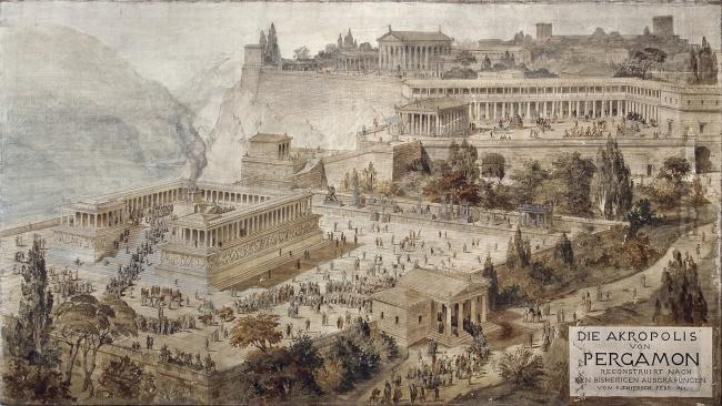 © wikipedia     Самые ранние душевые (начало IIв. дон.э.) нашли нараскопках города Пе