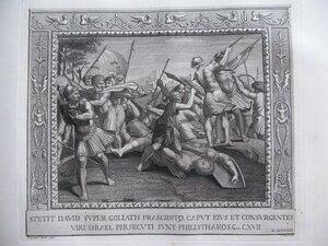 Давид и Голиаф (Первая книга Царств, XVII, 49-54)