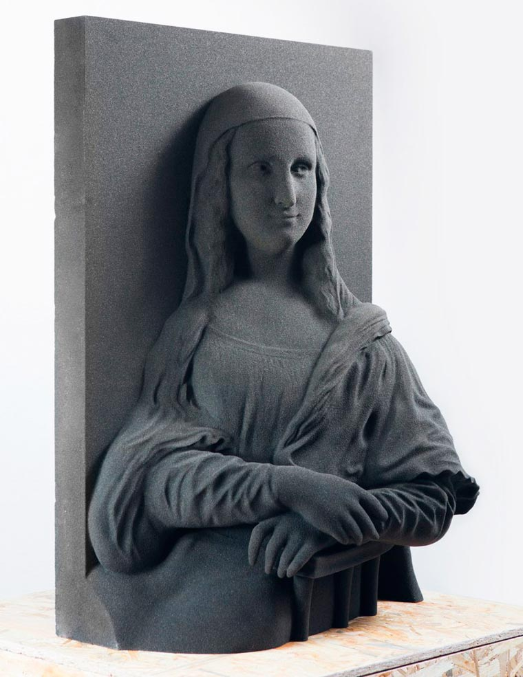 Unseen Art Project - 3D printing the famous classical paintings for the visually impaired