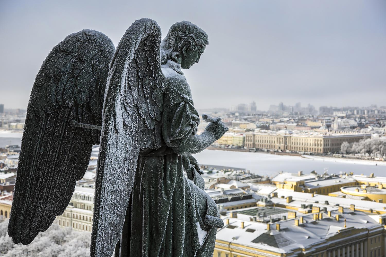ангелы в санкт-петербурге картинки уже привыкли