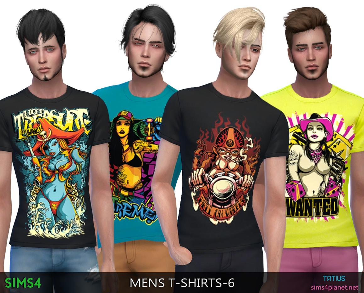 Tatius. Mens T-Shirts-6